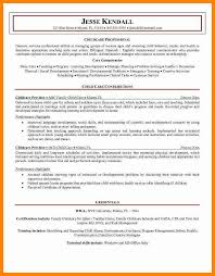 awesome collection of child care resume sample no experience also
