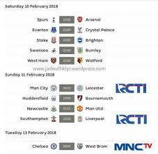 Jadwal Liga Inggris Jadwal Liga Inggris Pekan Ini Suarakarya Id
