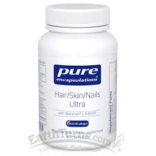 earthturns pure encapsulations hair skin nails ultra free shipping