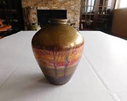 Weller Pottery Vase Patterns Weller Pottery Vase Etsy