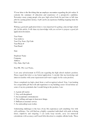 High School Cover Letter No Experience New Sle Cover Letter For High School Students With No