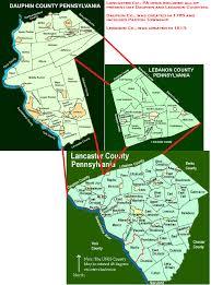Map Of Lancaster County Pa Kirkpatrick Kilpatrick Maps Pages