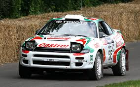toyota rally car toyota celica car pictures and model information
