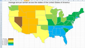 us map states excel how to create a thematic or choropleth map in excel 2007 and excel