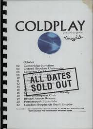 coldplay personnel coldplay first uk headline tour itinerary uk itinerary tour