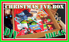 diy christmas eve box my son loves getting this every year on