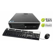 reprise ordinateur de bureau hp 8200 sff ordinateur fixe disque dur 250 go mémoire vive 4