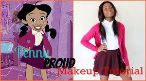 diy penny proud halloween makeup tutorial youtube