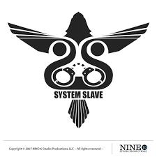 system slave band logo design brand management graphic design
