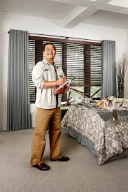 hire a professional from budget blinds and avoid installation