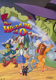Wizard Of Oz Shower Curtain Wizard Of Oz The Animated Movie Poster 1990 1020231141 Jpg 580