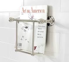 Magazine Rack Bathroom by Sussex Magazine Rack Pottery Barn