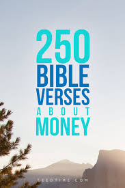 250 bible verses money