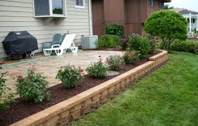 landscaping around patio for front of house landscaping ideas