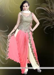 gown design buy n pink lycra gown online