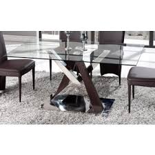 All Glass Dining Room Table Glass Kitchen Dining Room Tables For Less Overstock