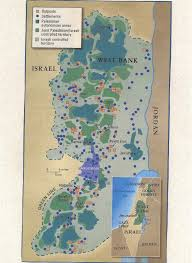 West Bank Map The Elephant Bar The Palestinian West Bank Has Been Illegally De