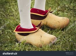 dutch clogs seen during tulip festival stock photo 102415867