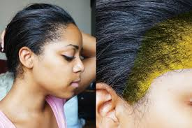 best hairstyles for relaxed hair how to style relaxed hair how to identify new growth lauren mechelle