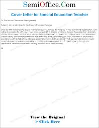 Teaching Job Application Cover Letter by Job Application For Special Education Teacher Png