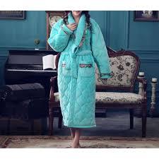 femme de chambre chaude robe de chambre matelassée femme vert achat vente robe de