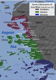Map Of Western Asia by File Western Asia Minor Greek Colonization Svg Wikimedia Commons