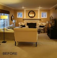 My Family Room Makeover Progress New Paint  Floors Hooked On - Paint family room