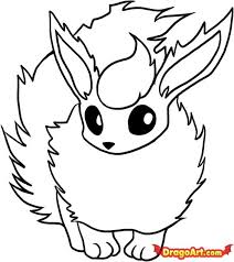 pokemon coloring pages flareon coloring pokemon coloring