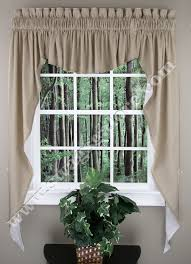 Fishtail Swag Curtains Amazing Kitchen Swag Valance Curtains Home On For Wingsberthouse