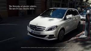 mercedes tv commercial mercedes tv the b class electric drive tv commercial