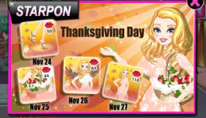 starpon thanksgiving day 2014 app fan site by