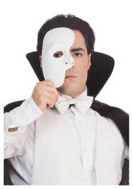 classic white phantom of the opera mask discount halloween masks