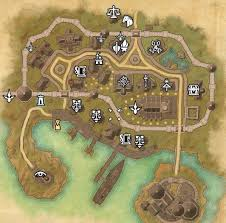 Bal Foyen Treasure Map 1 Map Coords Compasses Elder Scrolls Online Addons