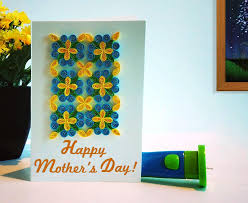 s day quilling card quill on