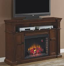 Electric Fireplace Media Console 58