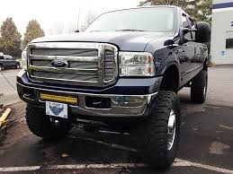 f250 led light bar bumper brackets for 20 led light bars 05 07 ford superduty f250