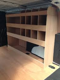 Ford Transit Connect Shelving by 2014 Ford Transit Connect Lwb Full Driver Side Plywood Racking