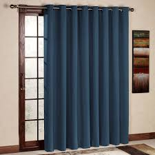 Blackout Door Panel Curtains Decorating Rhf Wide Thermal Blackout Patio Door Curtain Panel
