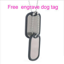 photo engraved dog tags aliexpress buy personalized army tags key ring customization