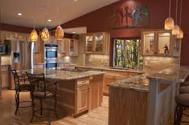 what paint color goes best with hickory cabinets picking the right wood for your cabinets house tipster