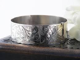 antique sterling silver cuff bracelet images Antique sterling silver cuff bracelet edwardian 1913 etsy jpg