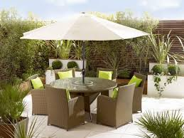 Patio Table And Umbrella Reasons To Set Outdoor Table And Chairs With Umbrella All Home