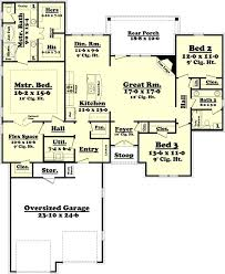 floor plans of a house 3 bedroom ranch house floor plans luxamcc org