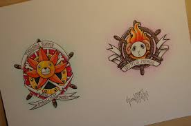 one piece tattoo picture one piece sunny and merry tattoo design by iskabhell on deviantart