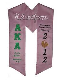 customized graduation stoles our graduation stoles i designed courtesy of pridesash alpha