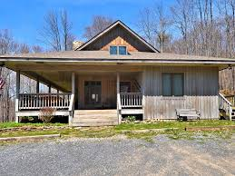 Log Homes With Wrap Around Porches Dancing Bear Lodge Is In A Wooded Setting Homeaway Davis