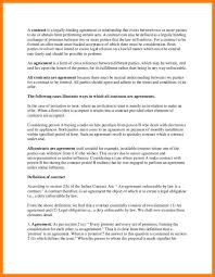 Elements Of A Cover Letter 7 Contract Between Two Parties Cfo Cover Letter