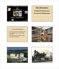maintenance schedule templates u2013 21 free word excel pdf format