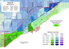 2014 Election Map by Mapping The 2014 Toronto Election Wards 35 And 36 Marshall U0027s
