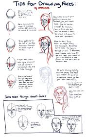 tips for drawing faces by emmilinne education drawing art